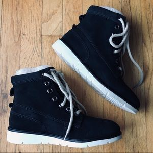 Shoes - Ramarim suede lace up booties